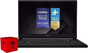 "XPC GS66 Stealth by MSI 15 Inch Gaming Laptop (Intel Core i7-10875H, 64GB RAM, 2x2TB 970 EVO Plus NVMe SSD, GeForce RTX 2070 Super Max-Q, 15.6"" FHD 300Hz 3ms, Windows 10 Pro) Gamer Notebook Computer"