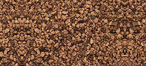 Woodland Scenics Medium Ballast 18 To 25.2 Cubic Inches-Brown (Set Train Ballast)