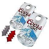 Trademark Global Coors Light Can Cornhole Bean Bag Toss Game