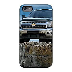 Anti-Scratch Cell-phone Hard Cover For Apple Iphone 6s Plus With Allow Personal Design Beautiful 2011 Cheverolet Silverado Pattern Customcases88