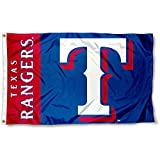 WinCraft Texas Rangers Flag 3x5 MLB Banner