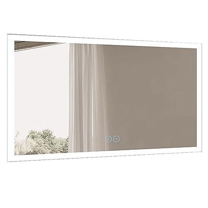 Amazon Com Decoraport 60 X 36 In Horizontal Led Bathroom Mirror