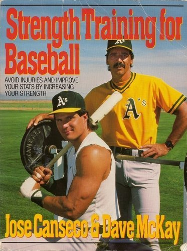 Image result for jose canseco weight training book