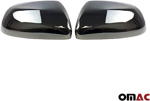 Dark Chrom Spiegelkappen Spiegelabdeckung Spiegelblenden Schutz Für Vito W447 2014 2020 Auto