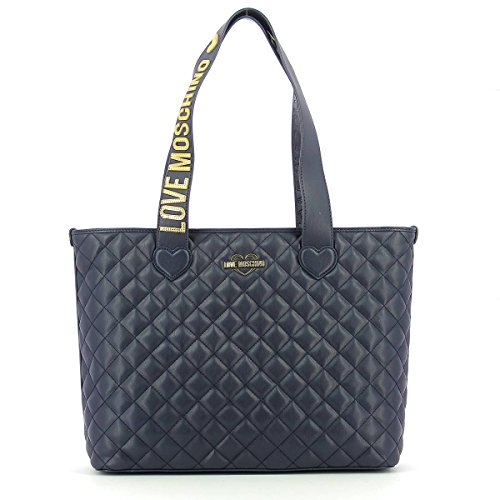 Quilted shopper NAVY BLUE