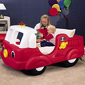 STEP 2 - FIRE ENGINE TODDLER BED, REF 795000: Amazon.co.uk ...