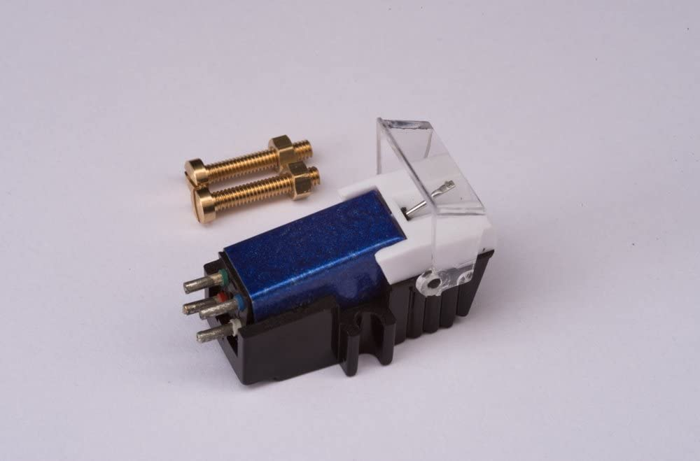 Cartridge and Stylus, needle with mounting bolts for Technics SLD3, SLD303, SLD33, SLD3K, SLD5, SLQ2, SLB303, SLH302, SL1000, SL1100, SL120, SL1650, SL1900, SL1950, SL2000, SL3310