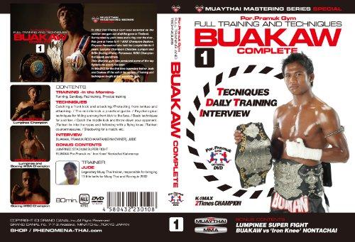BUAKAW COMPLETE vol.1 Muay Thai Full Training and Technique DVD Vol.1