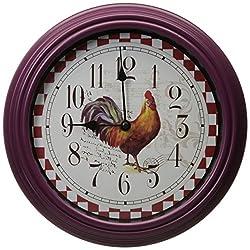 Kole Rooster Wall Clock