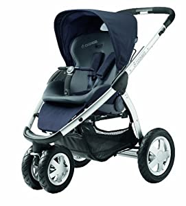 maxi cosi mura 3 pushchair total black baby. Black Bedroom Furniture Sets. Home Design Ideas