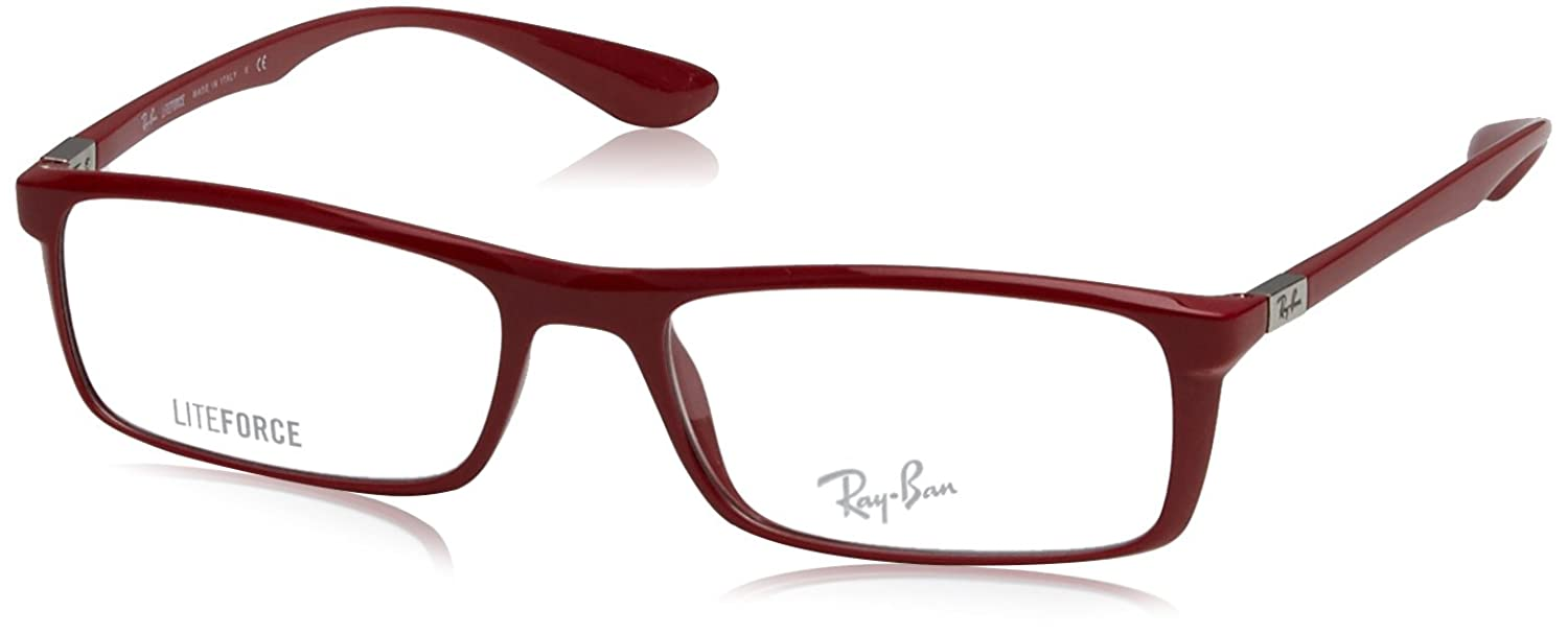 Ray Ban Optical Für Mann Rx7035 Shiny Amatanth Kunststoffgestell ...