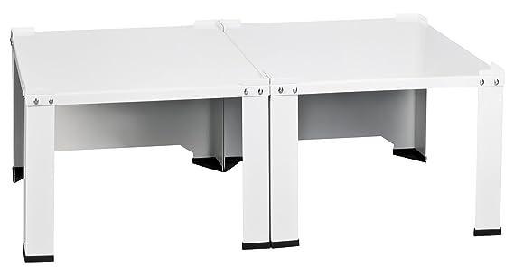 Kühlschrank Untergestell 60x60 : Doppel waschmaschinenuntergestell und trockner sockel podest