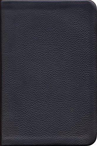NKJV Reformation Study Bible, Black, Genuine Leather