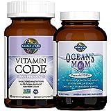 Garden of Life Prenatal Multi + DHA Bundle: Vitamin Code Raw Prenatal Multivitamin with Folate, 90 Vegetarian Capsules…