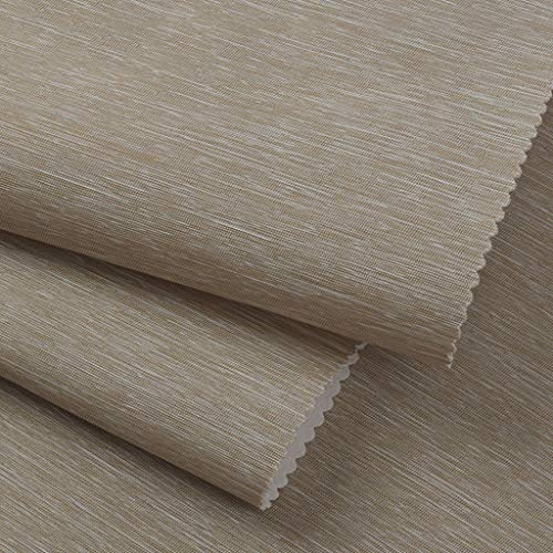 - LQW HOME 3D Stereo Wall Cloth Wallpaper Pure Pigment Color Living Room Bedroom Wallpaper TV Background Wall Bedroom Height 2.8 Meters (Color : Brown)