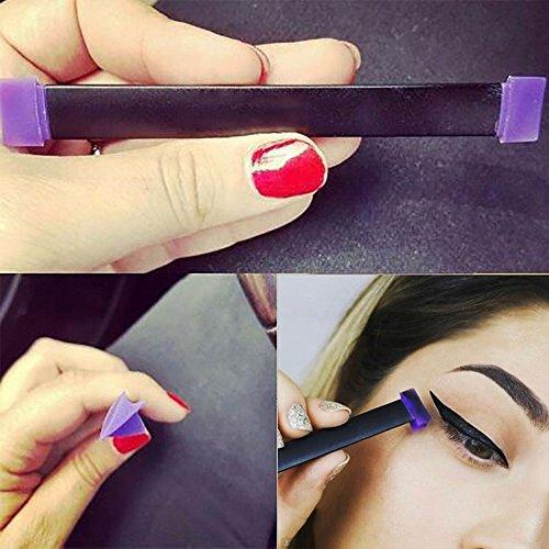 OR Pure Vamp Stamp Cat Eye Eyeliner Wing Eyeliner Stamp Tool Easy to Makeup Eyeliner 1 Second Over Cat Eyeline Makeup tool (2-pcs)