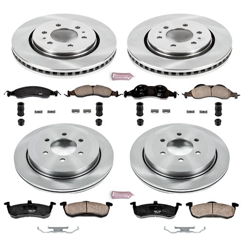 Autospecialty (KOE4109) 1-Click OE Replacement Brake Kit by POWERSTOP (Image #1)