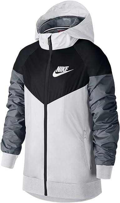palma Cadera recoger  Amazon.com: Nike Sportswear Windrunner Big Kids' (Boys') Jacket: Clothing