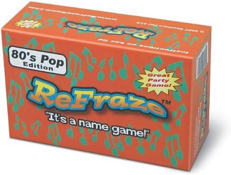 Re-fraze 80s Pop Edition