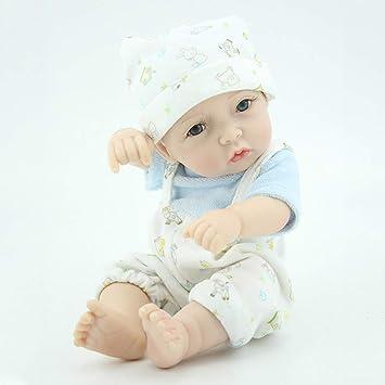 Candyana Reborn bebé muñecas Suave Silicona Vinilo Realista Chico ...