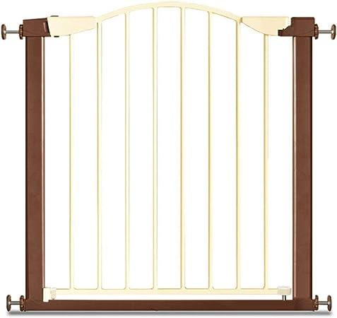 QIANDA Barrera de Seguridad Bebé Puerta de la Escalera Retráctil Compuerta De Presión Auto Cerrado La Seguridad Protector De Barrera for Niños Puertas Instalación Fácil (Size : 132-136cm): Amazon.es: Hogar