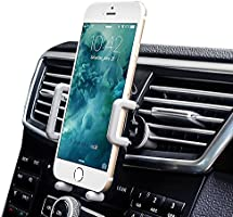 Air Vent Car Mount, iAmotus Universal Hands Free Phone Holder for Car 360°Adjustable Car Cradle for iPhone X 8 7 6s Plus 5s SE Samsung Galaxy S8 S7 Edge S6 Note 8 LG Nexus Sony and Other Smartphones
