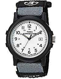 Timex Men's T49713 Expedition Camper Black Fast Wrap Strap Watch