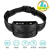 Cheap Omind Bark Collar, [2018 Newest] Dog No Bark Collar with Beep Vibration and Shock for Small Medium and Large Dog, Rechargeable