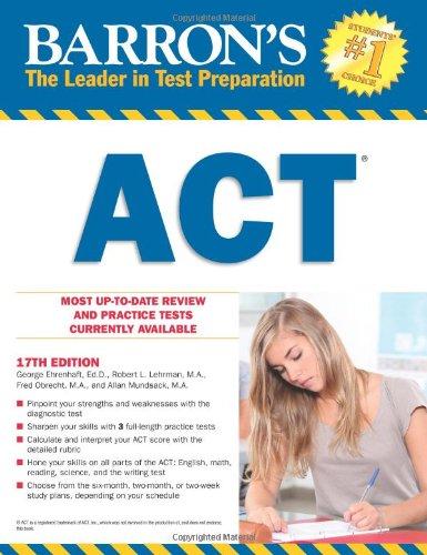Barron's ACT, 17th Edition