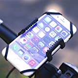 Gear Beast Universal Bike Phone Mount Mobile Cell Phone Holder Case for iPhone X 8 Plus 8 7 Plus 7 6s Plus 6s 6 Plus 6 Galaxy S8 Plus S8 S7 Edge S7 S6 Note 8 5, GPS Mount, Motorcycle Phone Mount (MNT-UNV-BIK)