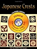 Japanese Crests, Dover Staff, 0486995615