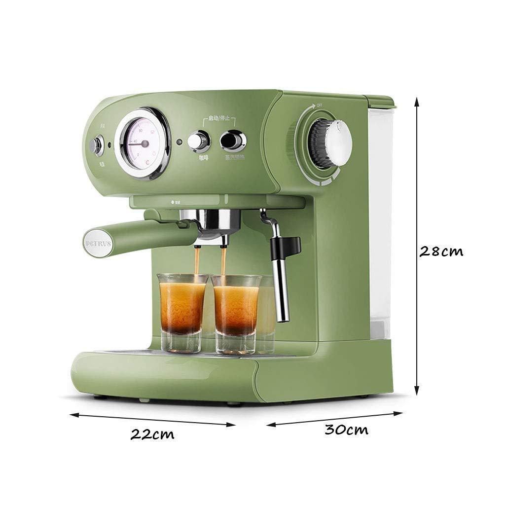 HIZLJJ Deluxe automático estupendo café Espresso y Capuchino ...