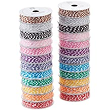 Extreme Value Bakers Twine Variety Pack by American Crafts | Brights | 24 Pack