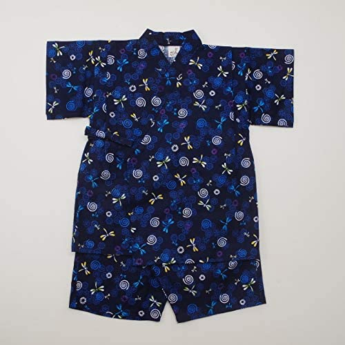 日本製 甚平スーツ 祭り 男の子 トンボ(920922)