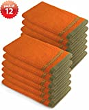 Everydayspecial Kitchen Towel Collection Barmop 17''x19'' Orange 12 pack