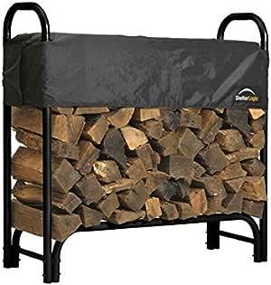ShelterLogic Backyard Storage Series Covered Firewood Rack