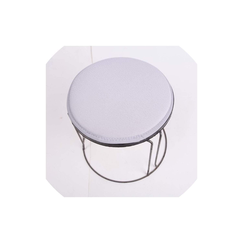 Admirable Amazon Com Kkk 3Boss Soft Round Cushion Protector Cotton Lamtechconsult Wood Chair Design Ideas Lamtechconsultcom