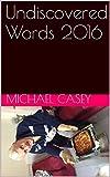 Undiscovered Words 2016