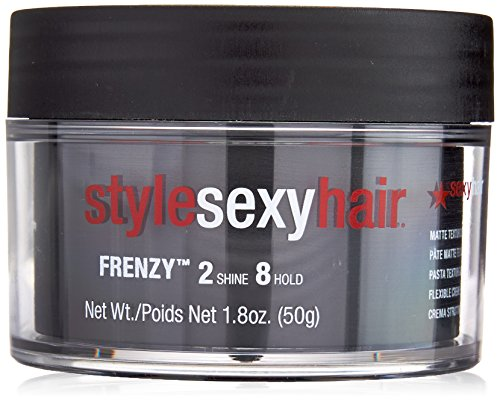 Sexy Hair Short Sexy Hair Frenzy Matte Texture Pomade 2 shine and 8 hold