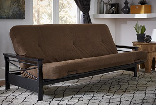 "DHP 6"" Futon Foam Mattress 6"", Brown"