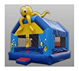 Inflatable Sea Bounce IV w Octopus Top - Commercial (15 ft.)