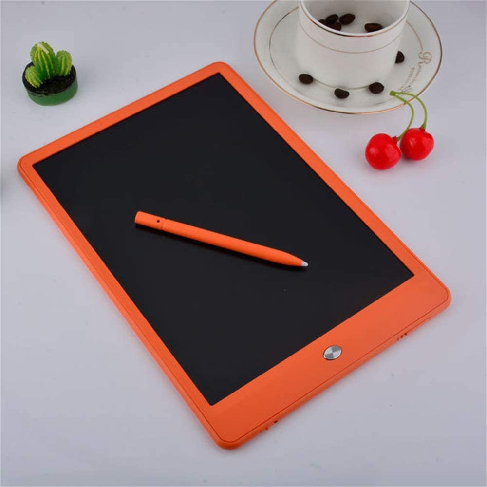 Color : Orange, Size : 10 inches LCD Writing Tablet Colorful 10 Inches LCD Writing Tablet Electronic Doodle Pads Drawing Board Drawing Tablet for Kids
