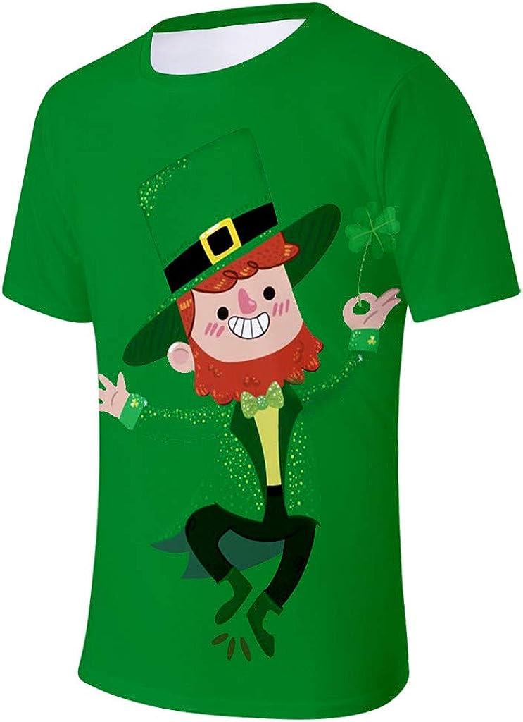 Shamrocked Funny St Patricks Day tee Shamrock Shirt Mens St Pattys Day t-Shirt St