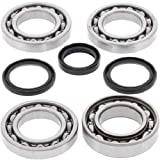 BossBearing Front Differential Bearings and Seals Kit for Polaris Scrambler 850 2015