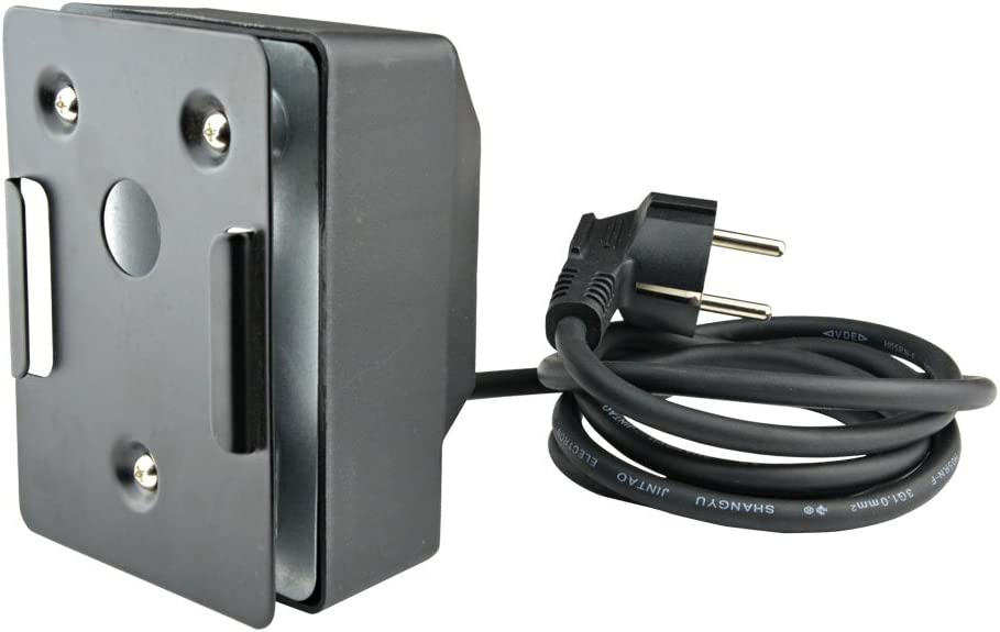 ONLYFIRE Motor para pincho giratorio de barbacoa, 2 r/min, 50/60 Hz, 4 W, negro
