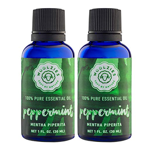 (Essential Oil (Double Bottle of 1 oz, Peppermint))