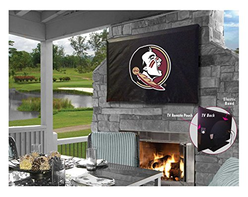 Holland Bar Stool Co. Florida State Seminoles Head Breathable Water Resistant Vinyl TV Cover (30