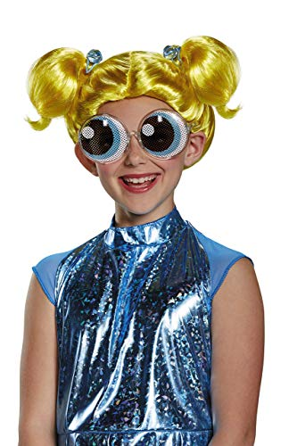 Bubbles Powerpuff Girls Wig, One Size -