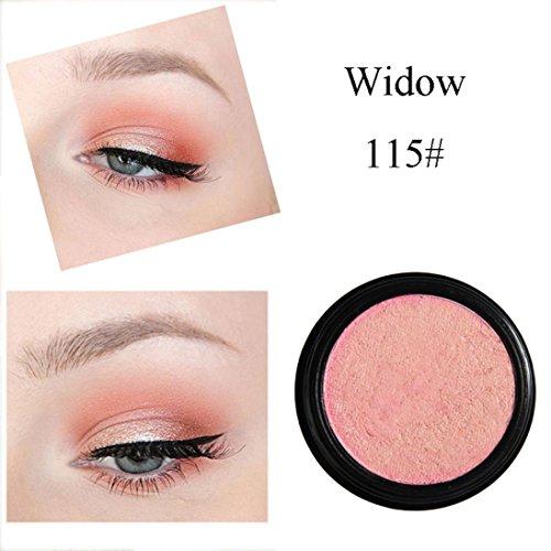 Eyeshadow Glitter Powder ,, PHOERA Glitter Shimmering Make Up Eye Shadow Powder Flash Colors Metallic Eye Cosmetic By KingWo (O)