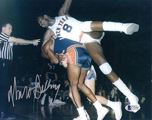 Walt Bellamy Autographed 8x10 Photo New York Knicks Legend Beckett Authentic - Bellamy Photo
